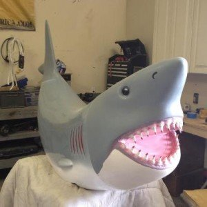 Mechanical Shark Ride